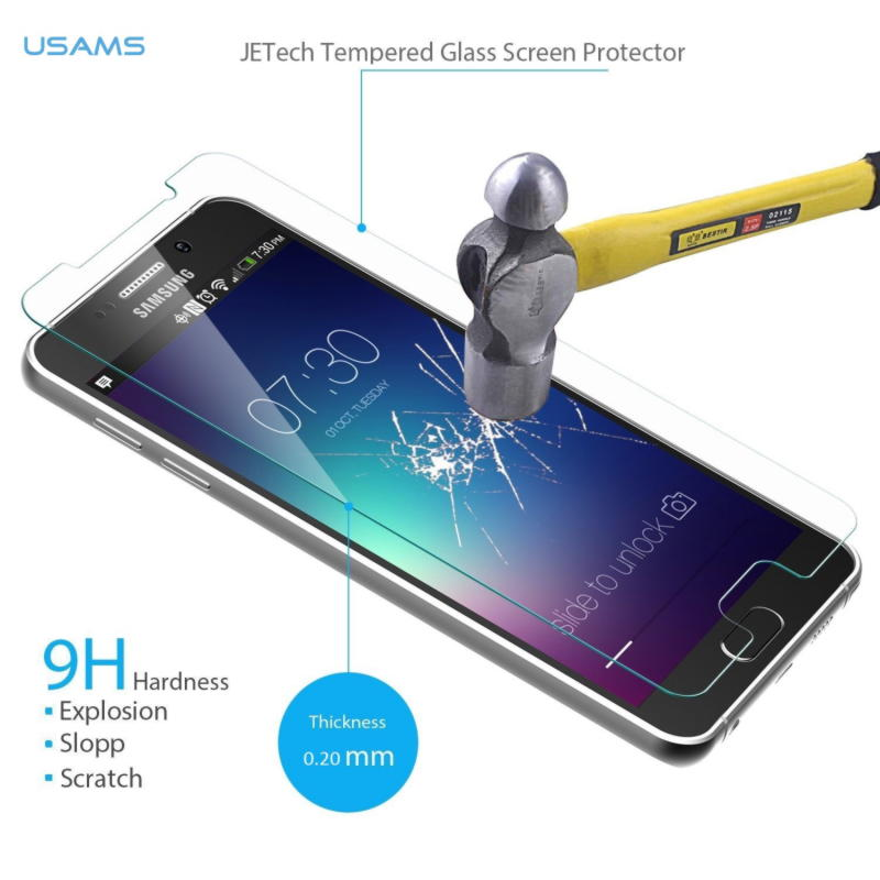 Samsung Galaxy Note 5 Usams Panserglas Pro+ 0.2mm - Klar