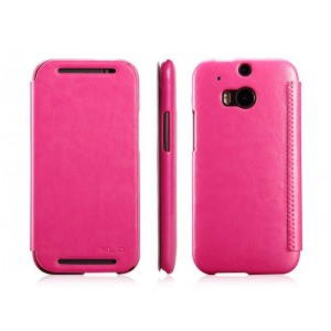 HTC One M8 KLD Enland Series Cover - Rosa