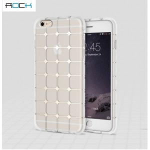 iPhone 6 / 6S Rock Cube Series TPU Cover - Gennemsigtig