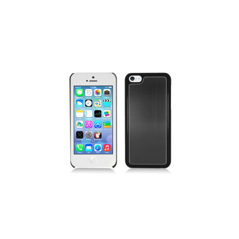 iPhone 5c Metal Cover - Sort