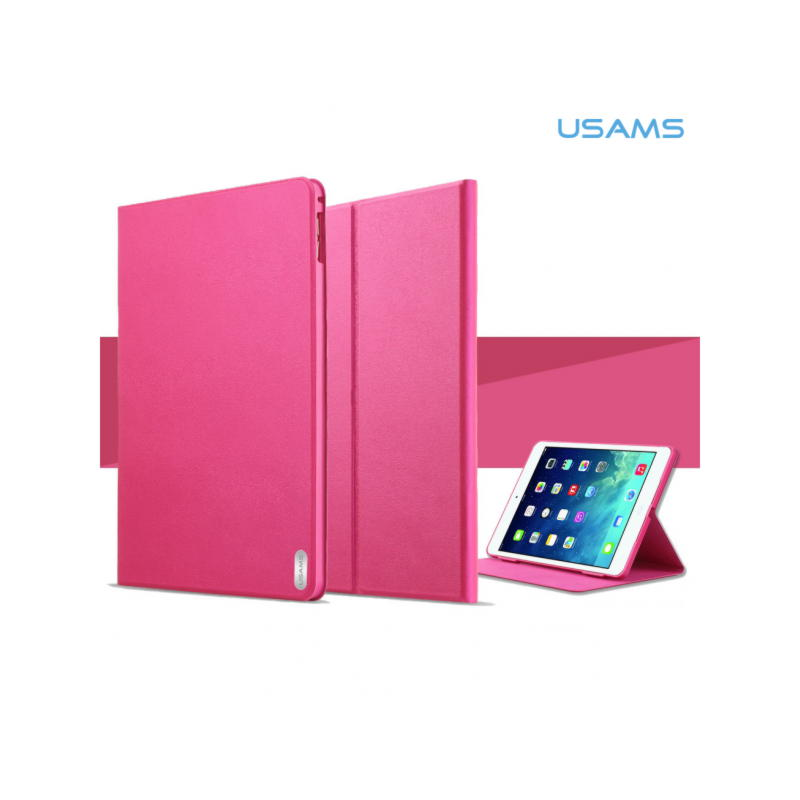 iPad Air 2 Usams Geek Series Smart Stand Cover - Sort