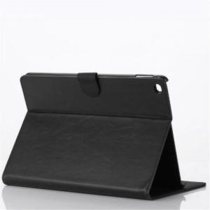 Apple iPad Air 2 Grazy Horse Cover Med Kortholder - Sort